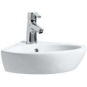 koupelny pt ek laufen pro b rohov um v tko 440x380mm s otvorem b l. Black Bedroom Furniture Sets. Home Design Ideas