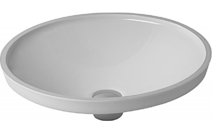 DURAVIT ARCHITEC vestavné umyvadlo 420mm bez přetoku, bílá 0319420000