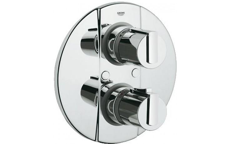 GROHE GROHTHERM 2000 termostat s integrovaným přepínačem 199mm chrom 19355000