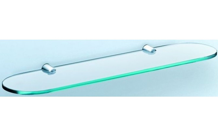 CONCEPT 200 polička 700x124x8mm sklo, chrom