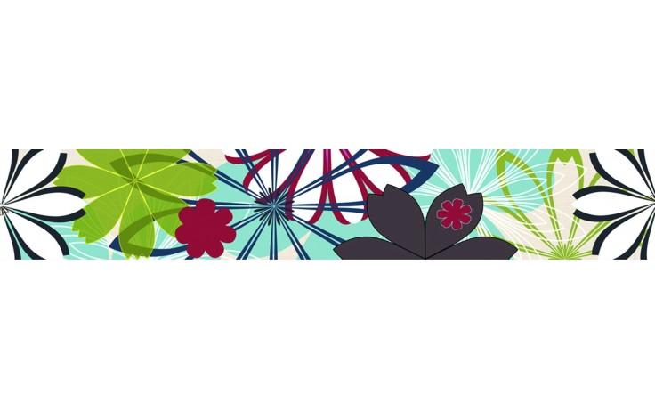 KERABEN THAI listela 11,8x70cm, flora KTYCR00N