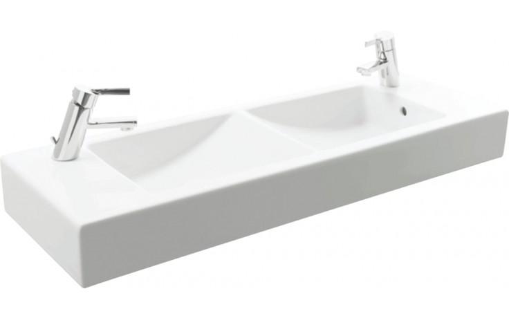 Umyvadlo nábytkové Jika s otvorem Pure 100 cm bílá