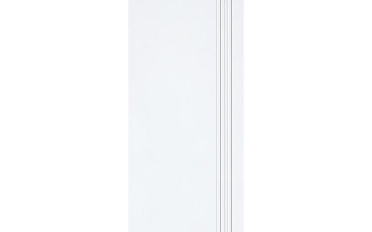 Schodovka Rako keramická Sandstone Plus 29,5x59,5 cm slonová kost