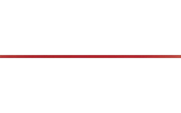 Listela Rako Charme 60x1,5 cm červená