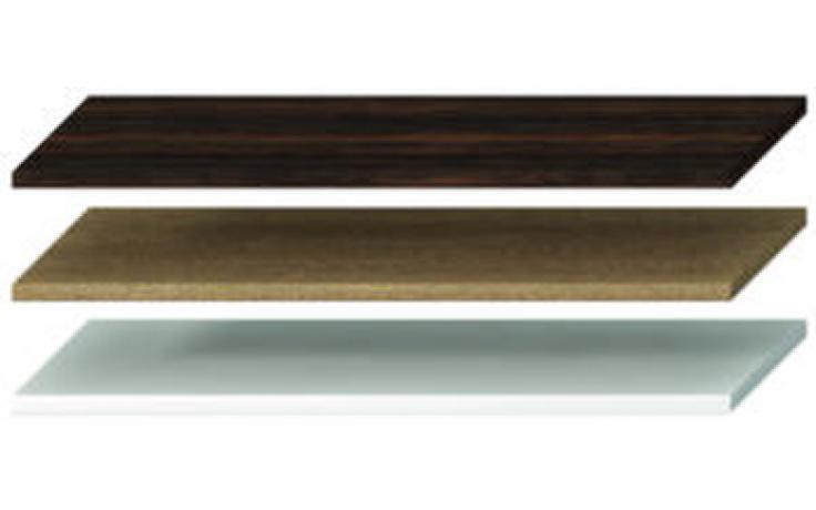 JIKA CUBITO-N umyvadlová deska 1601-2100x467x36mm bez otvoru, bez podpěr, bílá