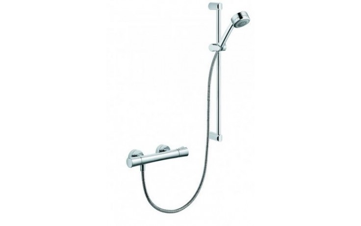 KLUDI ZENTA SHOWER DUO baterie termostatická DN15, sprchová, včetně sprchového setu, chrom