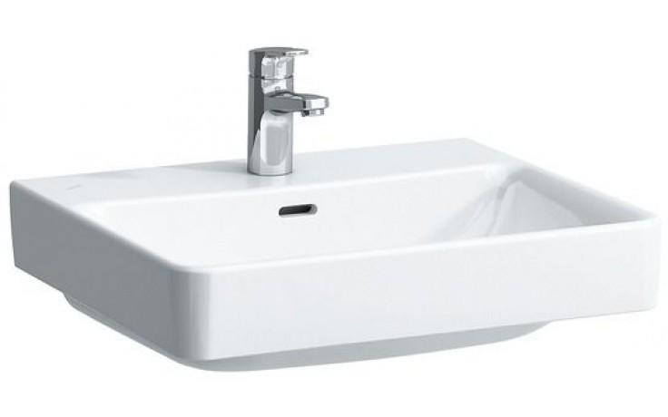 LAUFEN PRO S umyvadlo 550x465mm s otvorem, s přepadem, bílá LCC