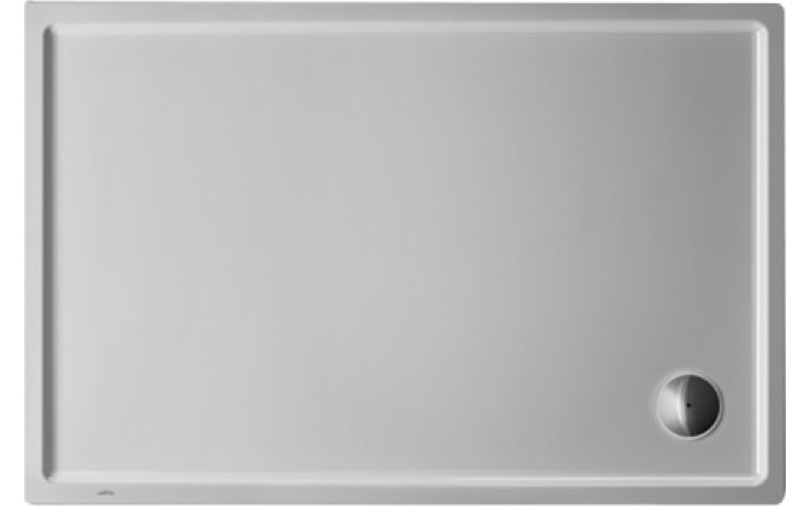 Vanička plastová Duravit obdélník Starck Slimline 120x80x55 cm bílá