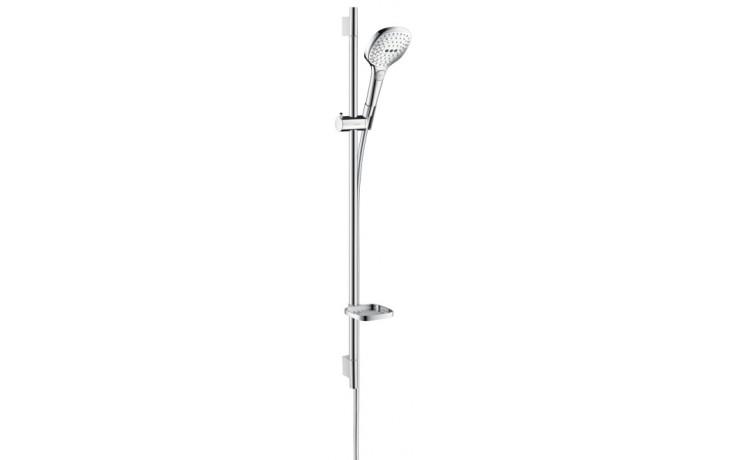 HANSGROHE sada ruční sprcha Raindance Select E 120 3jet/nástěnná tyč Unica'S Puro chrom 26621000