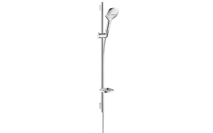 Sprcha sprchový set Hansgrohe Raindance Select E120 3jet Unica´S Puro 90 l=900mm chrom