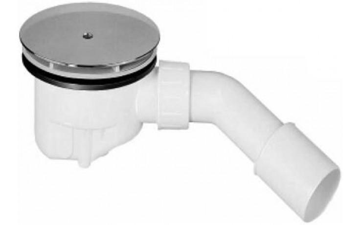 Sifon vaničkový Ideal Standard plastový odtoková garnitura průměr 90 mm chrom