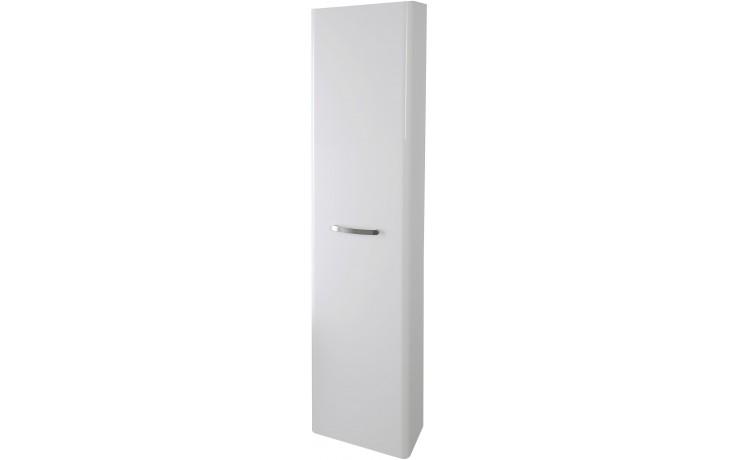 CONCEPT 500 skříňka vysoká 40x20x165cm závěsná, bílá