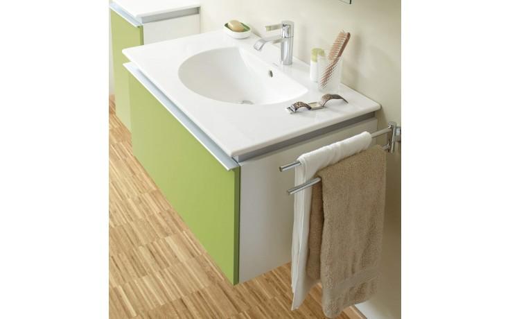 Nábytek skříňka pod umyvadlo Duravit Darling New závěsná 54,5x80 cm spring/bílá matná