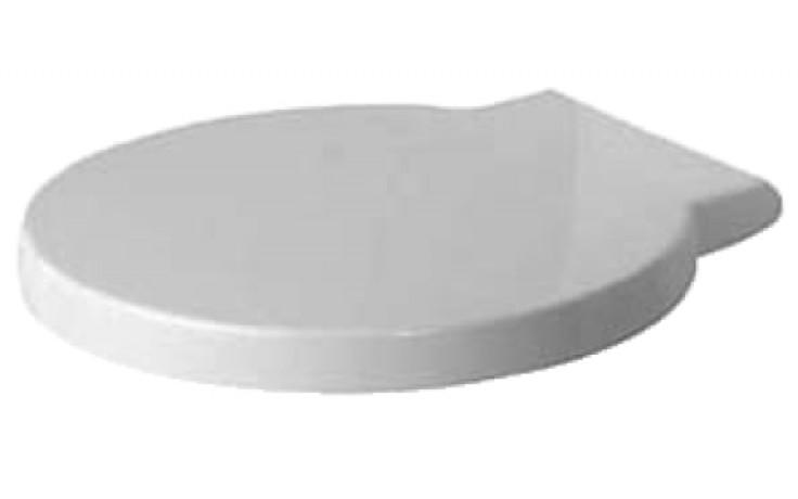 Sedátko WC Duravit duraplastové s kov. panty Starck 1 Softclose  bílé