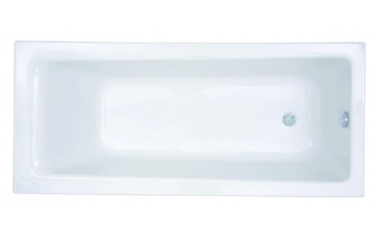 Vana plastová - klasická CONCEPT New 160x70 cm bílá