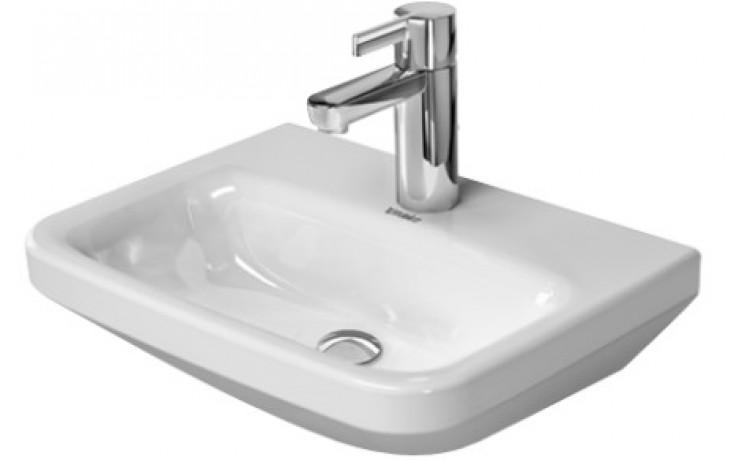 Umývátko klasické Duravit s otvorem DuraStyle bez přetoku 45cm bílá