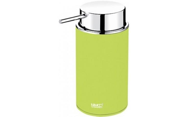 NIMCO PURE dávkovač na tekuté mýdlo 72x106x152mm žlutozelená/chrom PU 7031-75