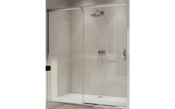 Zástěna sprchová dveře Huppe sklo Aura elegance 1200x2000 mm stříbrná matná/Privatima AP