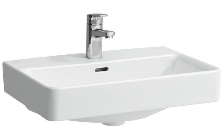 Mísa umyvadlová Laufen s otvorem Pro S 55 cm bílá-LCC