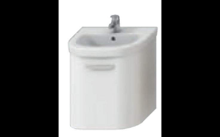 DEEP BY JIKA skříňka pod umyvadlo 530x410mm, bílá/bílá