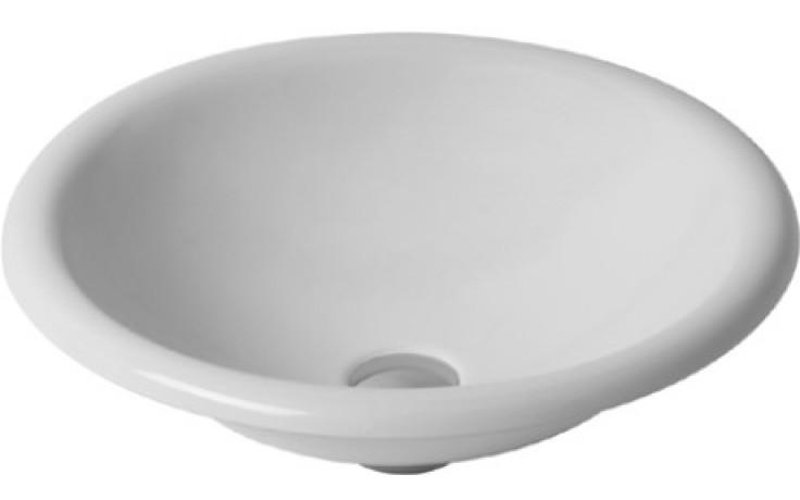 DURAVIT ARCHITEC umyvadlo do nábytku 450mm bez přetoku, bez plochy pro armaturu, bílá 0318450000