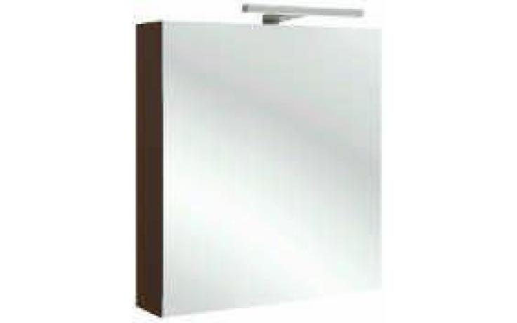 Nábytek zrcadlová skříňka Kohler Reach s LED osvětlením, panty vlevo 60x14x65 cm Gloss White Melamine