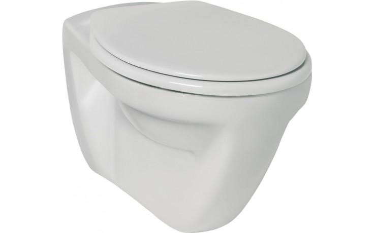 WC závěsné Ideal Standard odpad vodorovný Eurovit V s plochým splachováním  bílá
