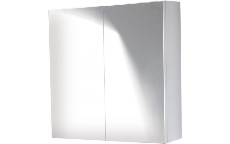 CONCEPT 500 zrcadlová skříňka 60x15x60cm, bílá