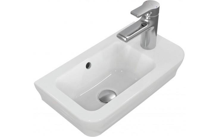 Umývátko klasické Ideal Standard s otvorem SoftMood 45x25 cm bílá