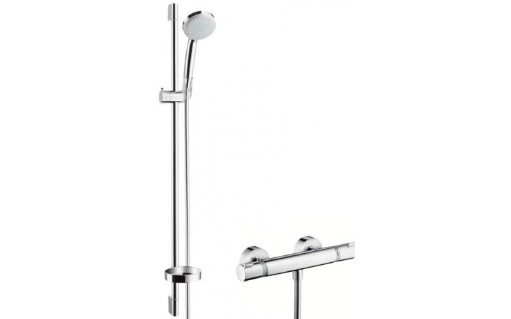 Sprcha sprchový set Hansgrohe Croma 100 Vario EcoSmart/Ecostat l=900mm chrom