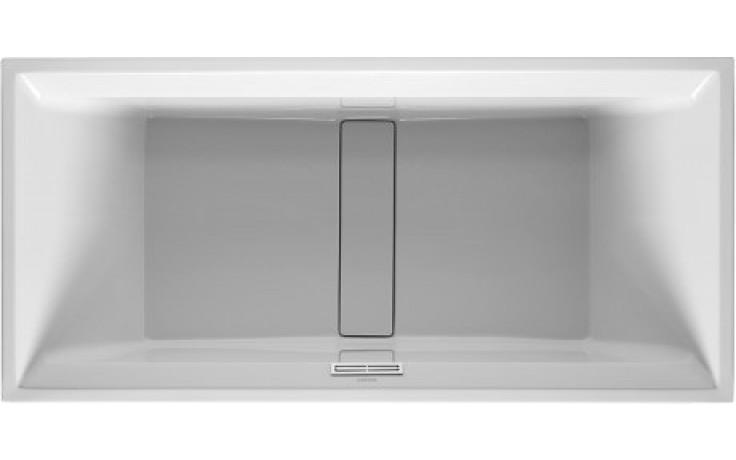 DURAVIT 2ND FLOOR obdélníková vana 1900x900mm na zabudování, akrylát, bílá