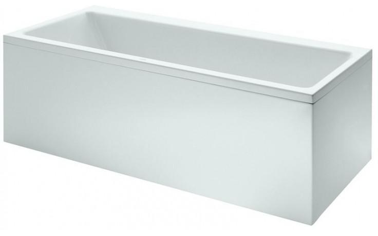LAUFEN PRO vestavná vana 1800x800mm akrylátová, s konstrukcí a L panelem, do levého rohu, bílá 2.3295.6.000.000.1