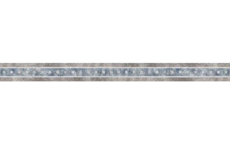 IMOLA ATLANTIS listela 4,5x60cm grey, L.MICENE 60G