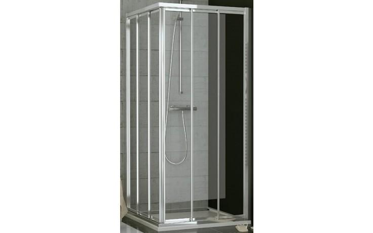 SANSWISS TOP LINE TOE3 D sprchové dveře 1000x1900mm, pravé, třídílné posuvné, aluchrom/čiré sklo