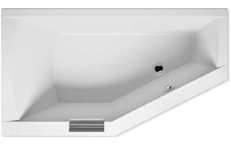 RIHO GETA BA89 vana 170x90x52cm, asymetrická, levá, akrylátová, bílá