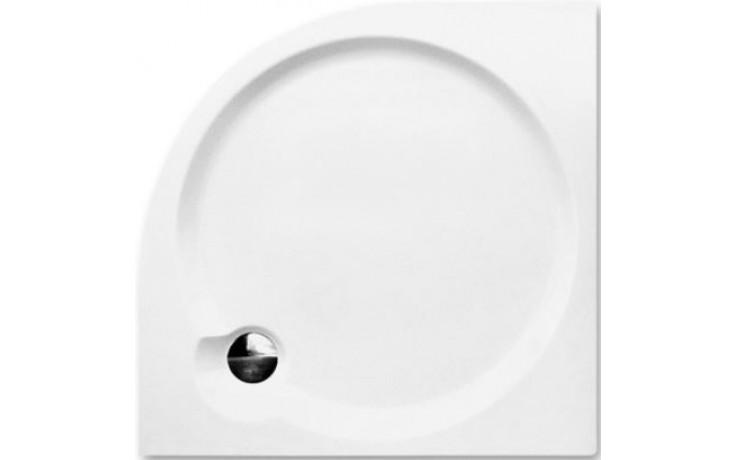 ROLTECHNIK DREAM-P sprchová vanička 800x800x125mm, R550 akrylátová, čtvrtkruhová, bílá