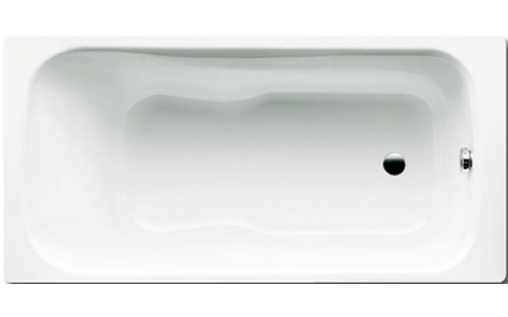 KALDEWEI DYNA SET 624 vana 1500x750x430mm, ocelová, obdélníková, bílá Antislip 226630000001