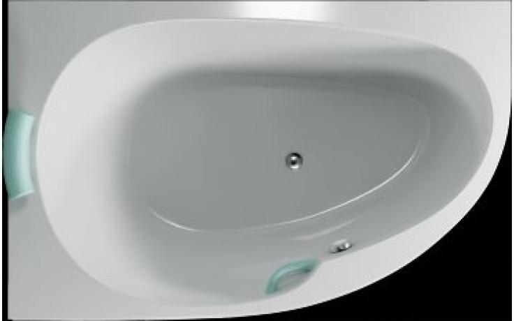 Vana plastová Teiko tvarovaná Spinell Mono L 160x100x55cm bílá
