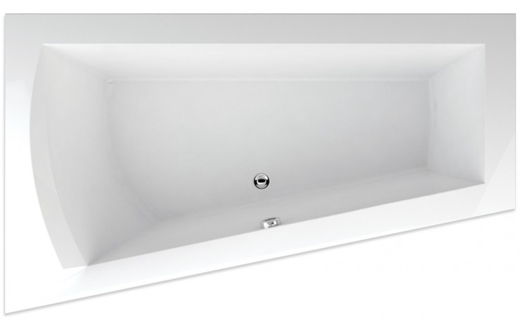 TEIKO NERA 170 L vana 170x100x50cm, rohová, akrylát, bílá