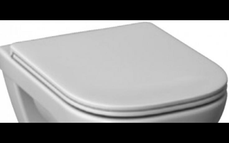 DEEP BY JIKA klozetové sedátko 440x365x50mm, s poklopem, duroplastové, s kovovými úchyty, bílá
