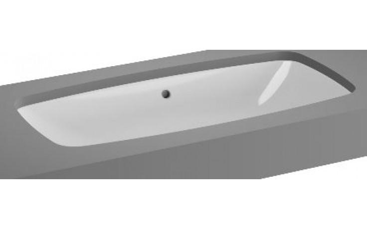 VITRA METROPOLE umyvadlo zápustné 765x365mm bez otvoru s přepadem bílá 5669B003-1082