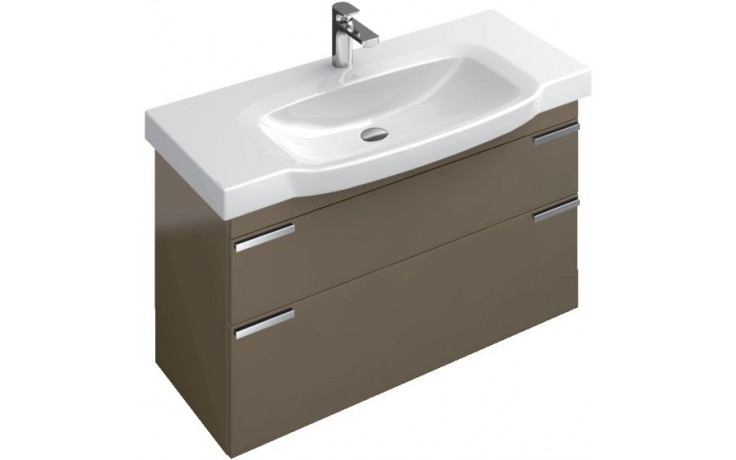 Nábytek skříňka pod umyvadlo Villeroy & Boch Sentique 950x550x425mm Glossy White