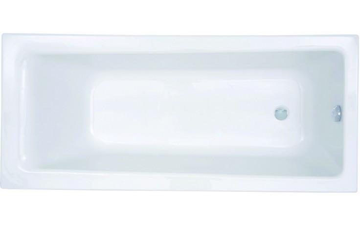 Vana plastová - klasická CONCEPT New 180x80 cm bílá