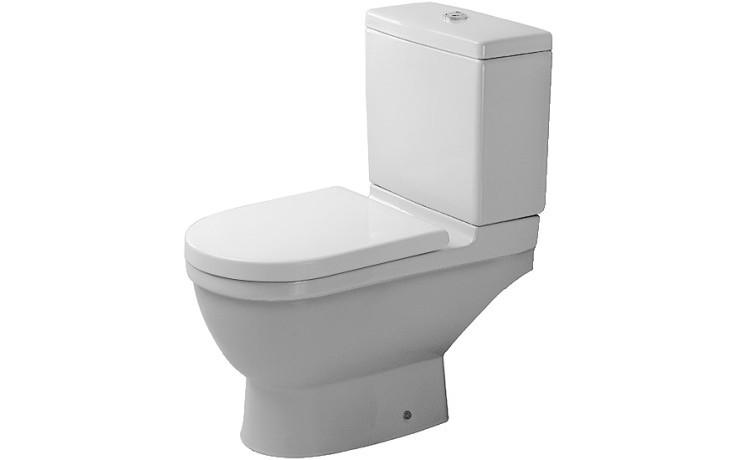 WC kombinované Duravit odpad vodorovný Starck 3 36x65,5cm bílá+wondergliss
