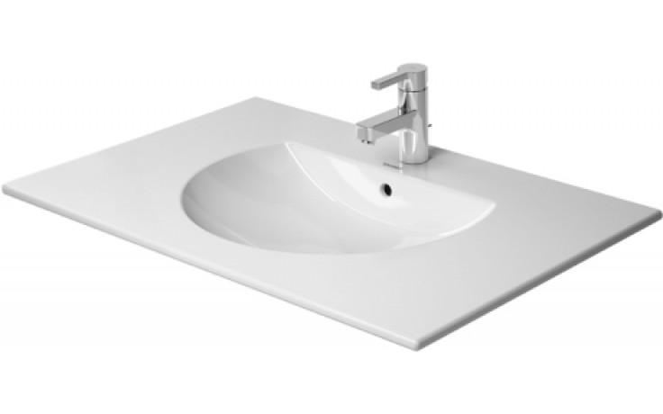 Umyvadlo nábytkové Duravit s otvorem Darling New s přepadem 83 cm bílá