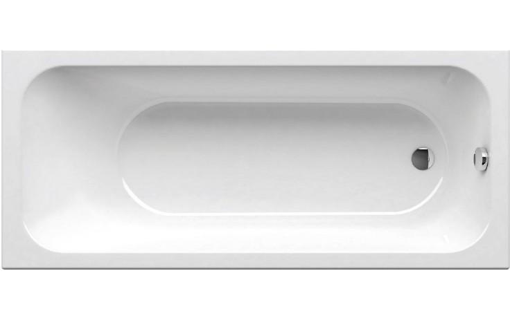 RAVAK CHROME 160 klasická vana 1600x700mm akrylátová, obdélníková, snowwhite