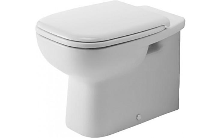 WC mísa Duravit odpad vodorovný D-Code mělké spl. bílá