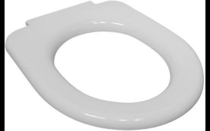 DEEP BY JIKA klozetové sedátko bez poklopu, duroplastové, s plastovými úchyty, bílá