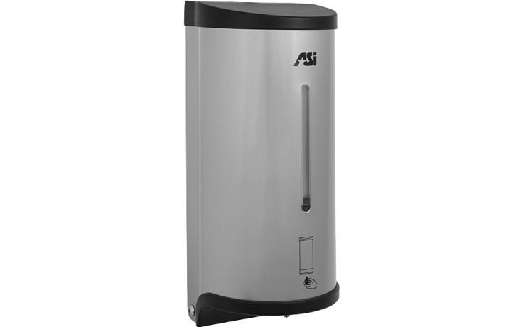 SANELA SLZN39E dávkovač tekutého mýdla, 1l, nástěnný, automatický, nerez mat
