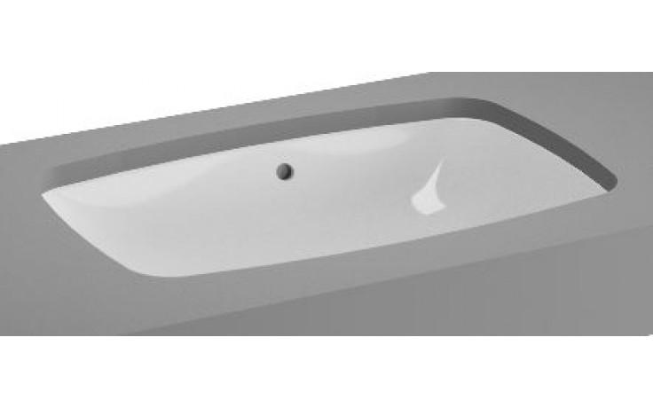 VITRA METROPOLE umyvadlo zápustné 565x365mm bez otvoru a přepadu bílá 5668B003-1083